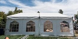 אוהל אבלים להשכרה בהוד השרון