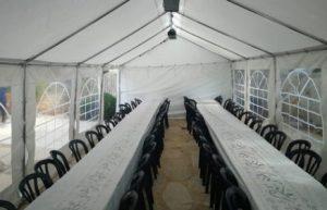 השכרת אוהל לאירוע מיוחד