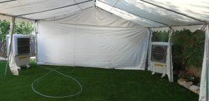 השכרת אוהל ממוזג לאירוע